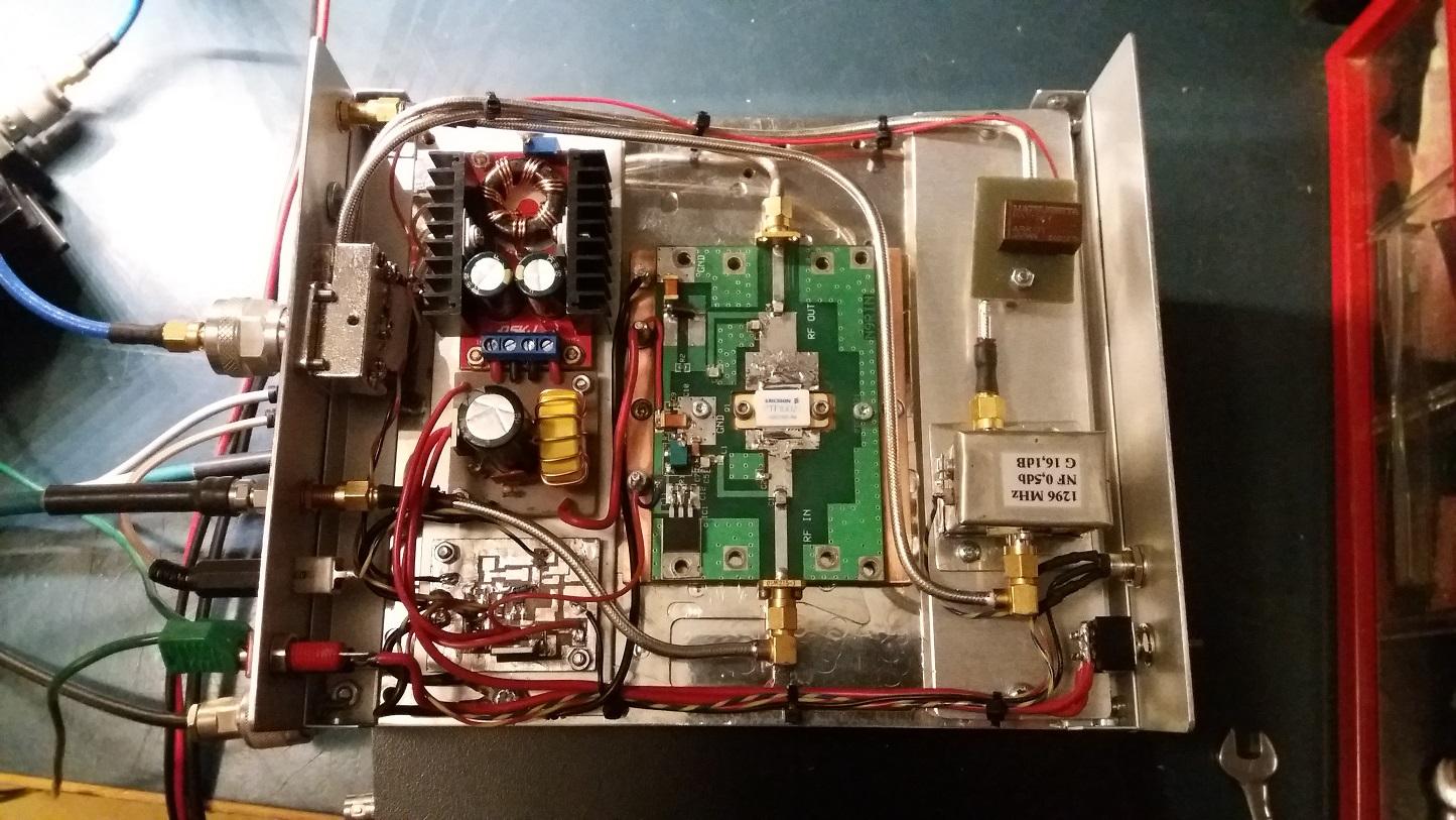 SM4HNG Elektronik: PA for 1296 MHz