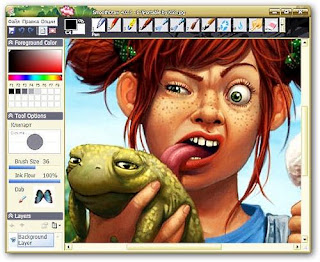 painting and digital free-hand drawing software