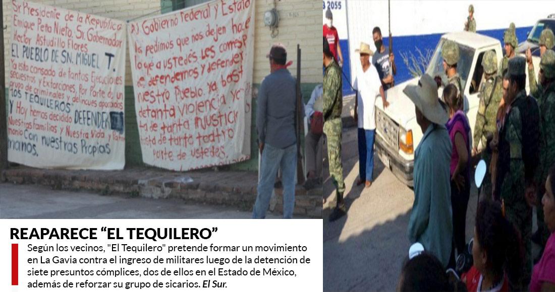 """""""El Tequilero"""", en fuga, recorre pueblos y exige ayuda """"por la buena o la mala"""""""