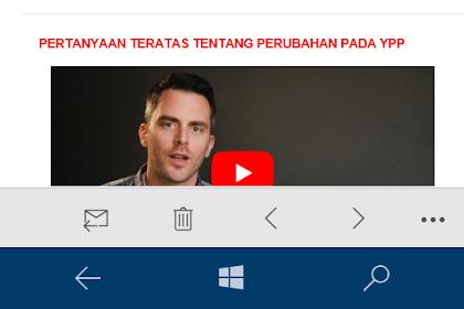 Berakhir Sudah Karier Saya (Deka Firhansyah) di Youtube.com