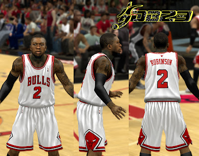 NBA 2K13 Chicago Bulls Home Jersey Patch