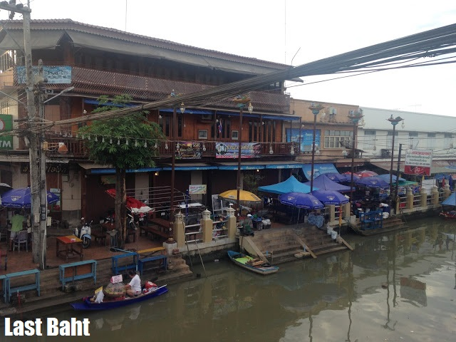 floating village Ampawah guest houses Thailand
