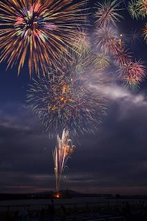 Yokohama Town Summer Festival Fireworks Display 横浜町ふるさとのまつり夏祭 花火大会 Yokohama Furusato no Matsuri Natsu Matsuri Hanabi Taikai