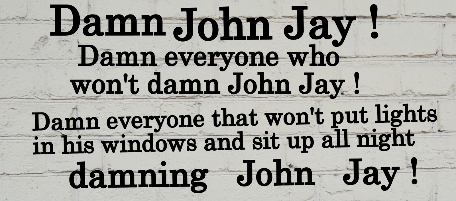 Madison's Bad Blood with Washington Part III: Damn John Jay!
