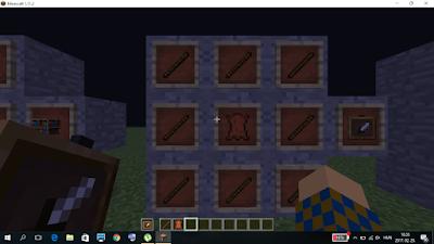 minecraft eszközkeret crafting
