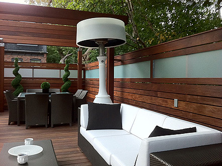 Stylish Outdoor Heaters To Combat The Chill