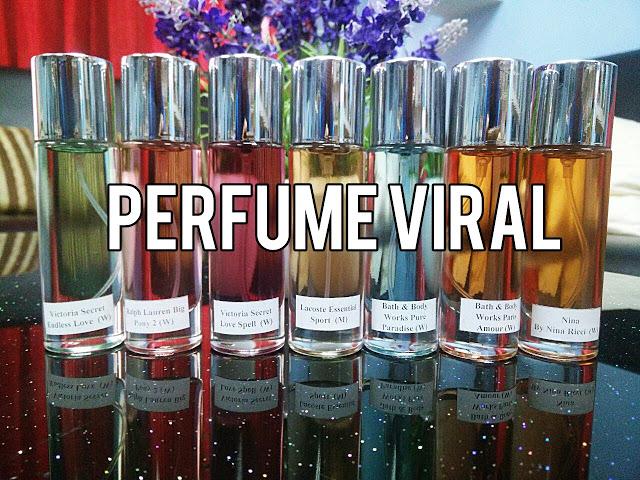Senarai Perfume Yang Top Dengan Kategari Khas Untuk Wanita