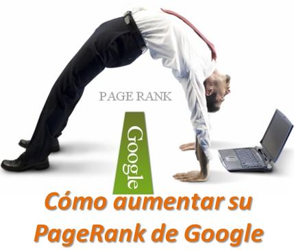 Cómo aumentar su PageRank de Google