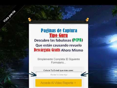 Gana Dinero con paginas de captua Blogger