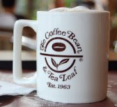 The Coffee Bean & Tea Leaf logo in coffee cup