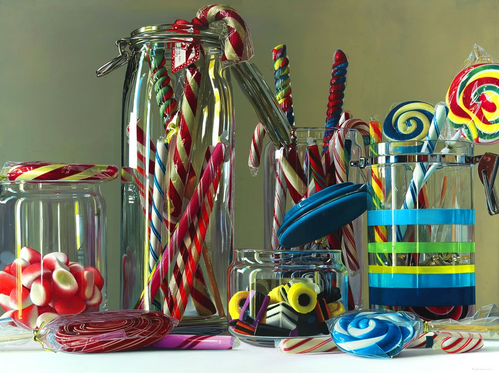03-Dylans-Candy-Bar-Roberto-Bernardi-Hyper-realistic-Candy-Paintings-www-designstack-co