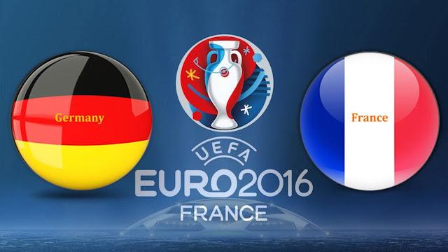 Live skor hasil Jerman vs Prancis Piala Euro 2016