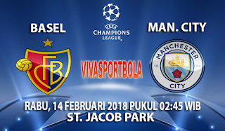 Prediksi Basel vs Manchester City 14 Februari 2018