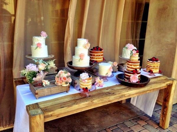 LE DOLCE: Bolo Pelado  Naked Cakes