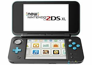 Nintendo 2DS XL Video Game - Handheld Gaming Controller