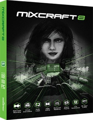 Acoustica Mixcraft 8.1 Build 389 poster box cover