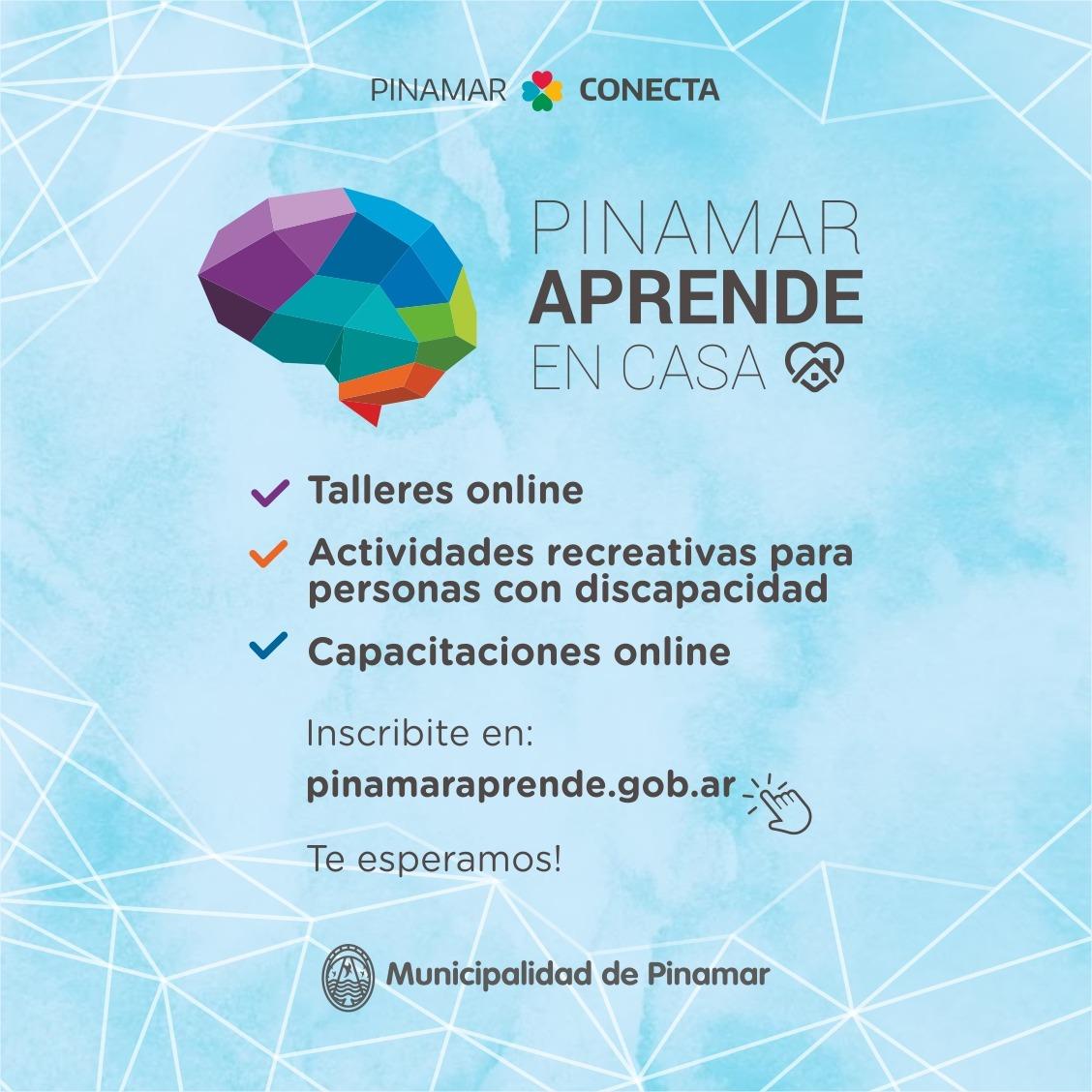 ¡Vuelve Pinamar Aprende y este año es totalmente virtual!