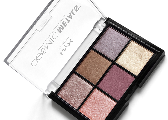 NYX Cosmic Metals Shadow Palette Review Photos Swatches