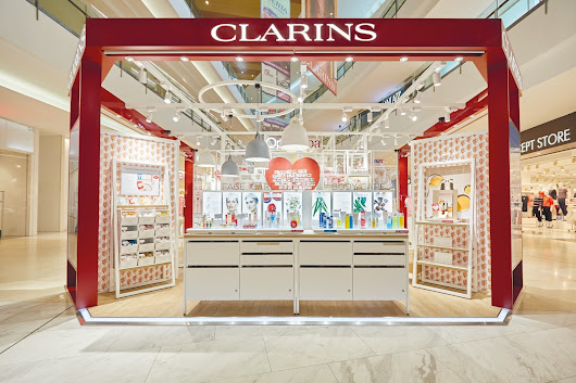 Welcome to The World's First Clarins Retail Kiosk at IOI City Mall, Putrajaya