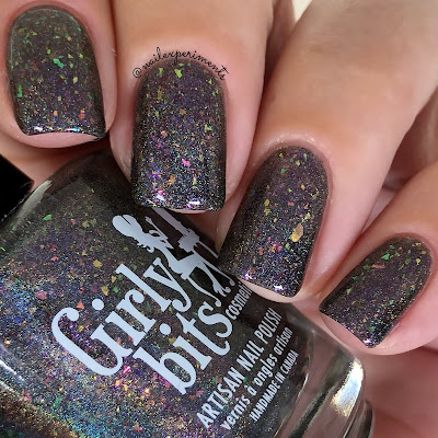 girly bits cosmetics aurora twilight swatches october 2018 colour of the month
