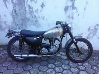 LAPAK MOTOR TUA: Jual Matchless 350cc Th57 - BANDUNG