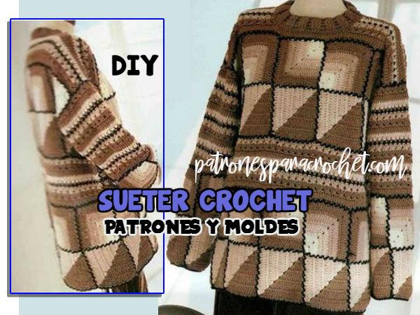patrones-de-suéter-ganchillo