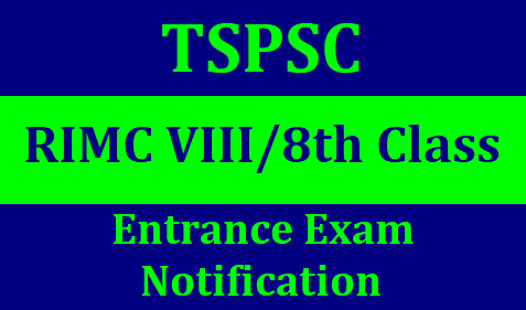 TSPSC RIMC Dehradun admission form 2019 | RIMC admission form 2019 | rimc online application form 2018 | rimc exam date 2018TSPSC Rashtriya Indian Military College (RIMC) 8th/VIII Classs 2019 Entrance Exam Notificaiton/2019/01/tspsc-rimc-viii-8th-class-entrance-exam-2019-notification.html