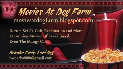 Movies At Dog Farm business card front