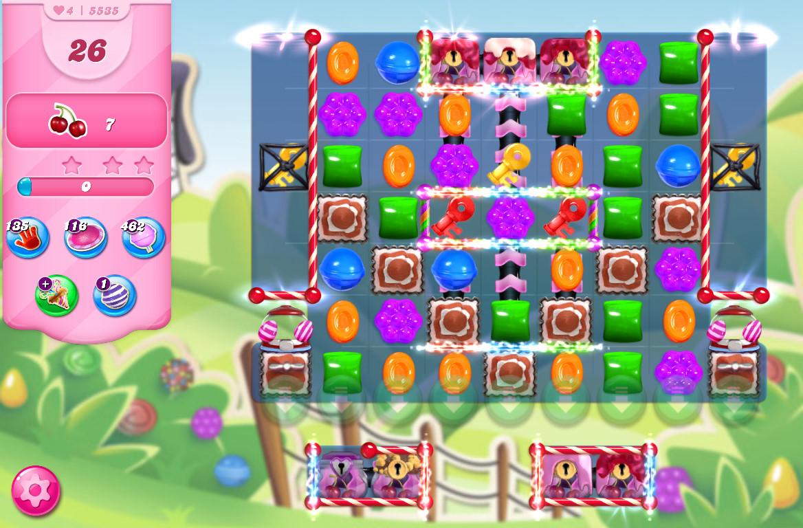 Candy Crush Saga level 5535
