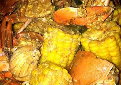 Resep kepiting saus padang sederhana