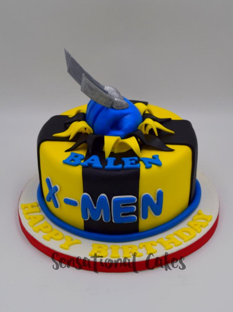 The Sensational Cakes: X-men Wolverine blade 3d customised cake for ...