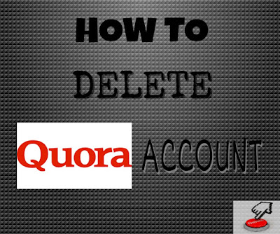 delete quora account