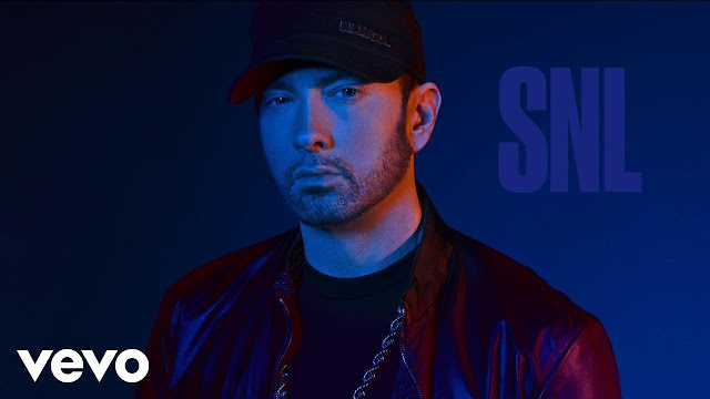 Eminem Performs a Medley of His Hit Songs On SNL 2017
