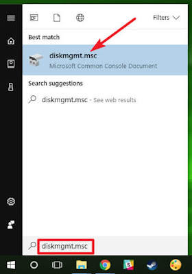 Menghapus Sistem Operasi Dual Boot di Windows - disc manajemen
