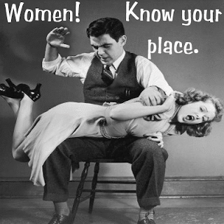 Sexism in language : Women! Know your place