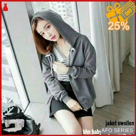 AFO372 Model Fashion Swollen Jaket Modis Murah BMGShop