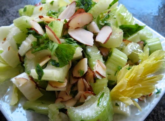 Healthy Salad with Celery