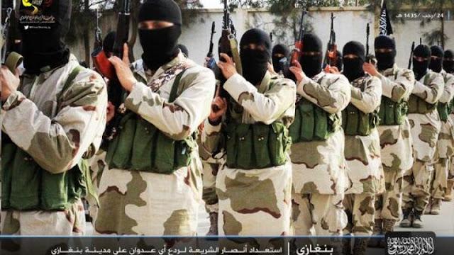 إعلان خبر حل جماعة أنصار الشريعة فى ليبيا