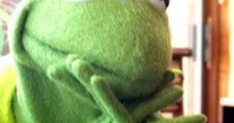 Kermit the frog meme blank - photo#52