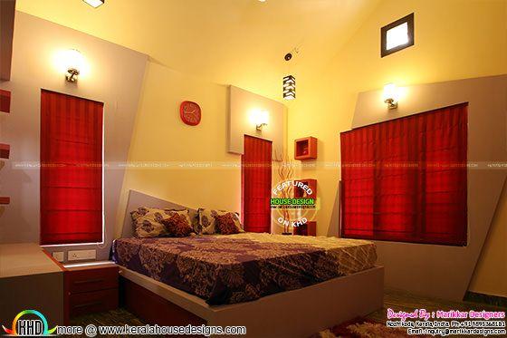 Furnished Kids bedroom interior