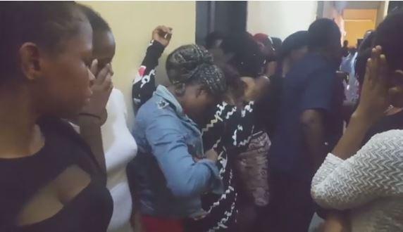 Nigerian police arrest goat video