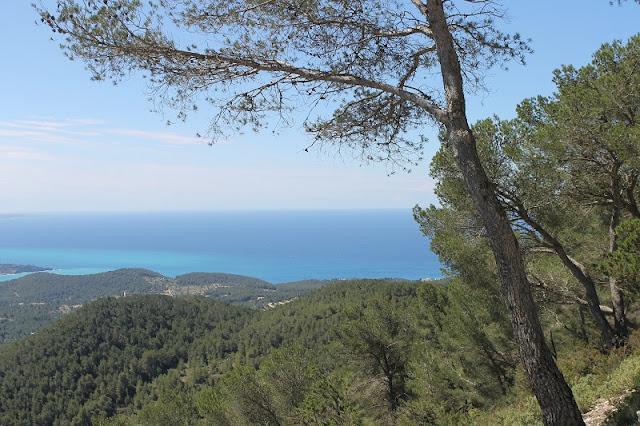 Vista de Sa Talaia em Ibiza