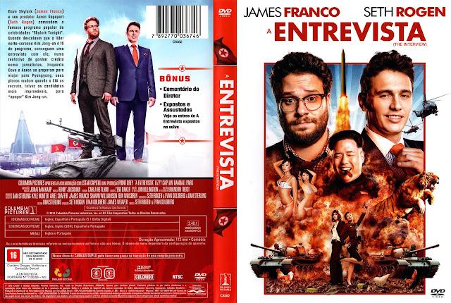 Capa DVD A Entrevista