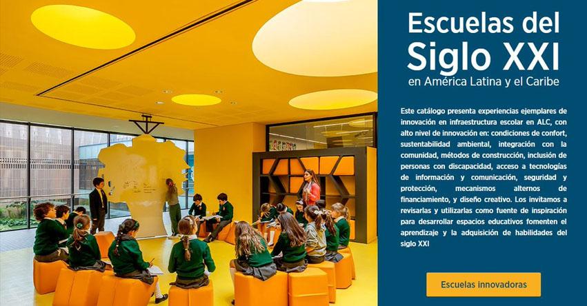 Siete colegios peruanos en catálogo de «Escuelas del Siglo XXI en América Latina y el Caribe» www.escuelassigloxxi.iadb.org