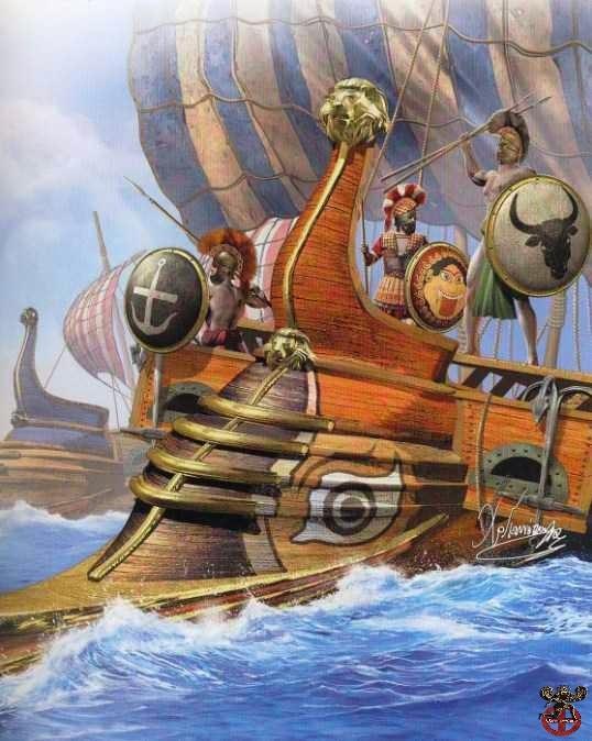 Η ναυμαχία του Αρτεμισίου 480 π.Χ.