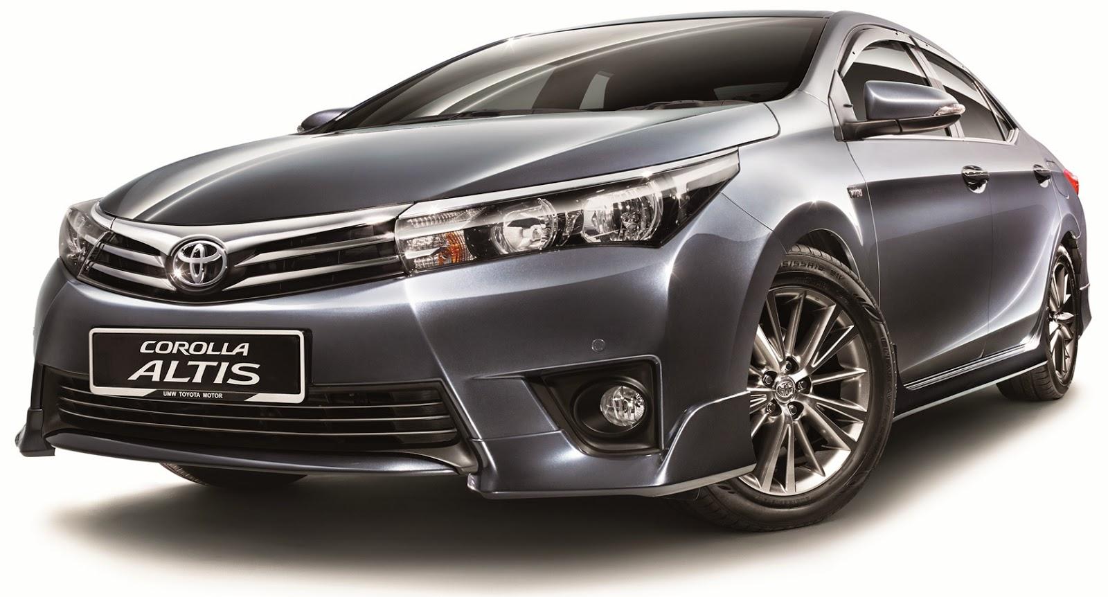Toyota Corolla Altis 2015 là phiên bản mới nhất của dòng xe Corolla Altis