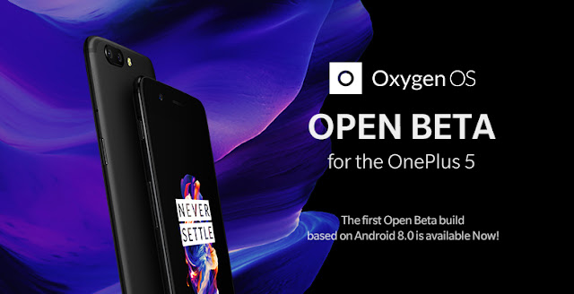 Official Android 8.0 Oreo beta available for OnePlus 5