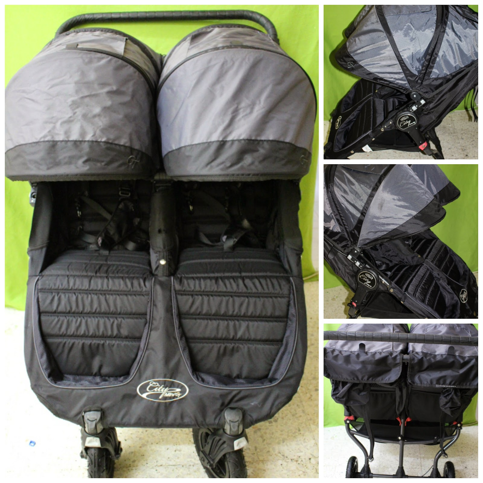 Amy Sweety Store: BABY JOGGER City Mini GT Double Stroller