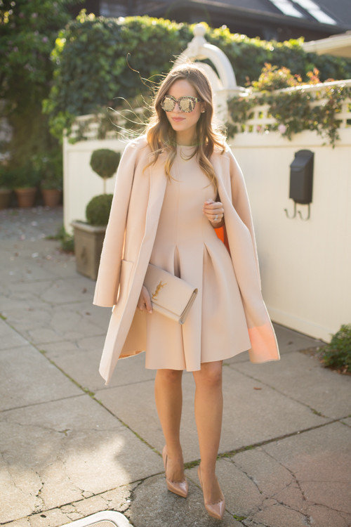 Outfit Of The Day: Neutral Glamorous