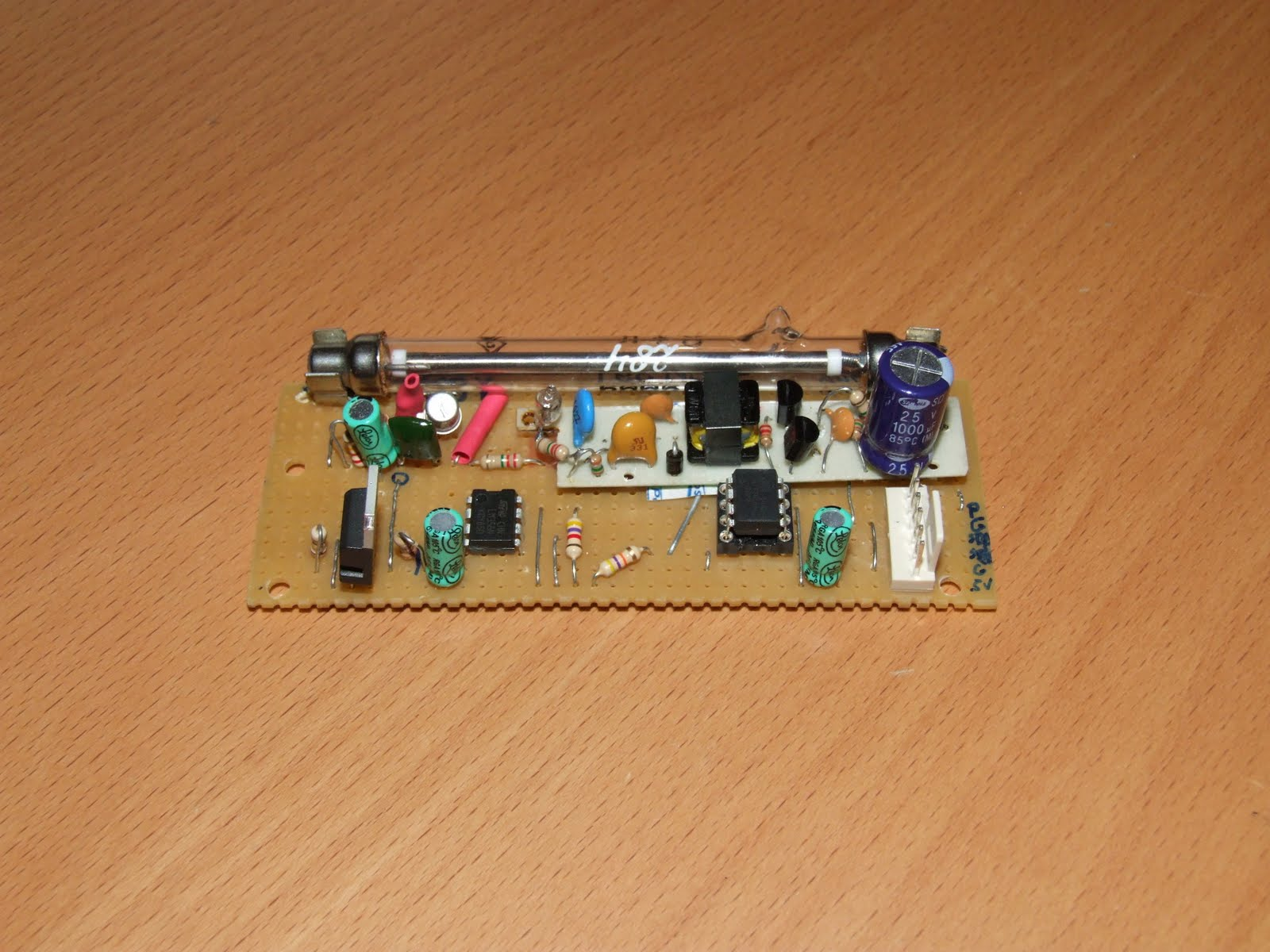 Creation Factory I2c Geiger Counter Circuit